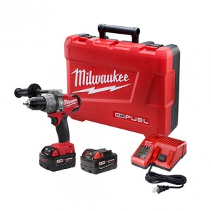 "Milwaukee 2604-22 M18 FUEL 1/2"" Hammer Drill/Driver Kit"