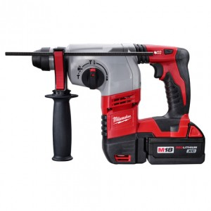 "Milwaukee 2605-22 M18 Cordless Lithium-Ion 7/8"" SDS-Plus Rotary Hammer Kit"