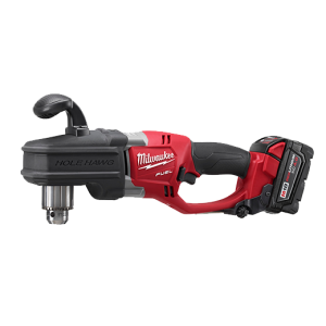 "Milwaukee 2707-22 Fuel 18v Lithium Brushless Hole Hawg 1/2"" Right Angle Drill Kit"