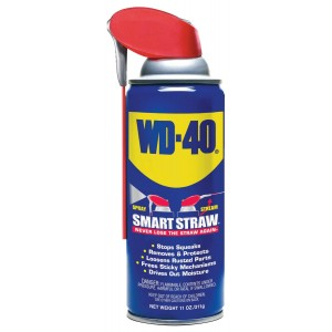 WD-40 110071 Multi-Use Product Spray with Smart Straw, 11 oz